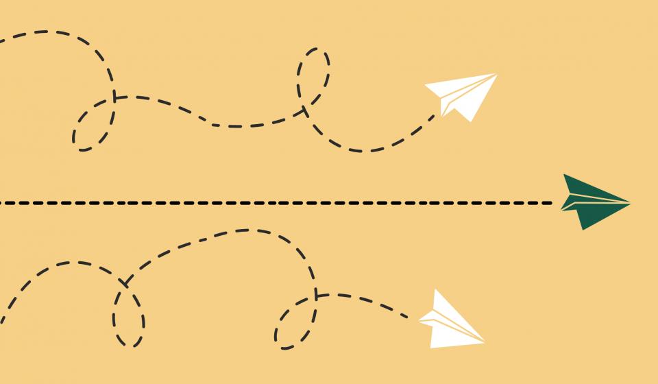 Straight Paper Airplane